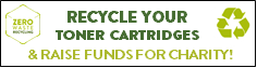 Recycle your toner cartridges